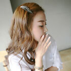 New Hot Hair Accessories Cute Leaf Feather Clip Headband Acrylic 7.5*2.2cm
