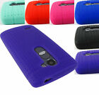 FOR LG LEON POWER TRIBUTE 2 DESTINY SILICONE RUBBER GEL SKIN CASE COVER+STYLUS