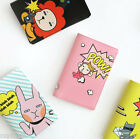 Hellogeeks Pop Art Passport Case Cover Ticket Card Holder Travel Cute Wallet