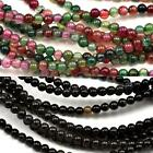 3mm Round Agate Semi-precious Gemstone Small Beads