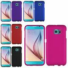 For Samsung Galaxy S6 Active Rubberized Snap On Ultra Slim Hard Cover Case