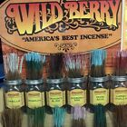 "WILDBERRY INCENSE 11"" STICKS(BUY 1 GET 1 25% OFF)10-30-60-100 STICKS-MADE IN USA"
