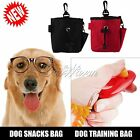 Dog Pet Treat Training Bait i-click Ball Pouch Clicker Waist Bag Puppy Reward