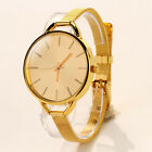 Women Gold Watch Girl Fashion Wristwatch Anolog Quartz Watch Lady Gift WHOLESALE