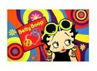 Betty Boop Psychedelic Area Rug or Door Mat - Two Sizes Available