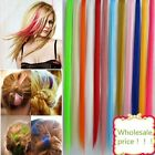 Fashion Hair Extension for women Long Synthetic Clip In Extensions Bunch Wig 5x