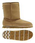 New Womens Adidas Seneo Casual Mid Honey Wheat Faux Suede Ankle Warm Lined Boots