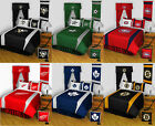 new NHL Hockey Bed Comforter Sheets BEDDING SET Collections - PICK YOUR TEAM