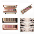 Classic Colors Eye Shadow Makeup Cosmetic Shimmer Matte Eyeshadow Palette +brush