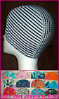 1x Infant or Kids LYCRA SWIMMING CAP -  CHECKERS Swim Hat TODDLER & CHILD - New