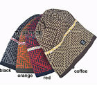 Unisex New Knitted Slouch Baggy Winter Warm Beanie Hat Mens/Ladies 3 Colors Cap