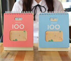 Success100 V7 D-Day Desk Scheduler Memo Note Planner Journal Calendar Study Book