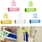 Colorful Plastic Toothpaste Holder Dispenser Rolling Tube Squeezer Bathroom Wall