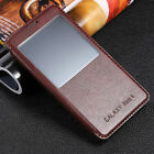 Luxury Protective Flip Leather View Stand Case Cover For Samsung Galaxy phones
