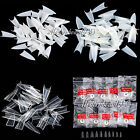 500Pcs Stilettos Sharp Nail Art Acrylic False Tip White / Clear / Natural Choose