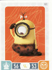Minions Trading Cards Pick From List 61 to 120