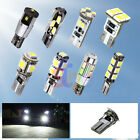 T10 W5W 194/501 White CANBUS OBC Error Free Cree LED Interior Car Light Bulb