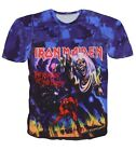 Iron Maiden Number of the Beast 1981 Tops T-shirt # A035