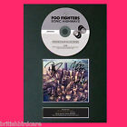 FOO FIGHTERS Sonic Highways Album Signed CD COVER MOUNTED Autograph Re-Print A4