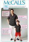 McCall's 6972 Beginner Paper Sewing Pattern to MAKE Shorts Trousers Shirt