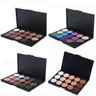 15 Colors Warm Nude Matte Shimmer Palette Cosmetics Makeup Eyeshadow Concealer