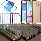 Arc Buckle Aluminum Metal Bumper Frame Case Cover For Samsung Galaxy S6 /S6 Edge