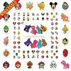 1PCS My Little Pony PVC Keychains Necklaces Pendants,PVC Keyrings Charms Gifts