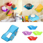 Kitchen Bathroom Draining Suction Cup Sink Holder Sponge Soap Brush Storage Rack