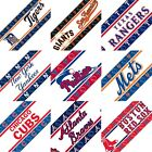 MLB Sports Logo Self Stick Wall Borders Baseball Peel And Stick Wall Decor Paper