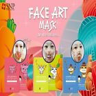 SNP Face Art Mask Cat Wrinkle Rabbit Whitening Squirrel Aqua With Lime Water