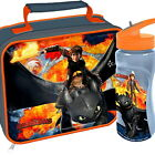 How to Train Your Dragon Lunch Bag and Aruba Bottle Set School New Gift