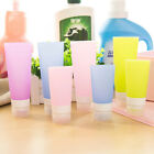 Travel Silicone Packing Bottle Lotion Shampoo Cosmetic Shower Tube Container