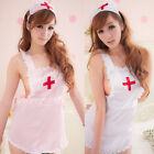 LA Fashion Lingerie Seductive Teddy Dress Babydoll Nurse Cosplay Fancy  CAM