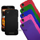 For ZTE Boost Max+ Max Hard Rubberized Case Matte Thin 2-Piece Cover
