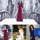 Ever Pretty Womens 3/4 Sleeve Lace Autumn Winter Long Formal Evening Dress 08412