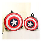 Chic Special packets Captain America Shield Student Backpack Book Bag Exquisite