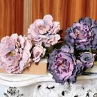 New Simulation High Peony Artificial Bouquet Flowers Leaf Floral Home Decoration
