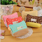 Economic Lady Coin Key Purse Floral Canva Coin Wallet Cosmetic Makeup Pouch LAUS