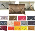 NEW WOMENS ENVELOPE FOLD OVER SNAKE SKIN PARTY LADIES GOLD EVENING CLUTCH BAG