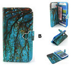 New Magnetic Wallet Card Slots Holder Leather Stand Case Cover For Smart Phones