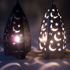Hot Sale Starry Star&Moon Pattern Lantern Stand Candle Holder Candlestick Decor