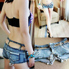 201 New Sexy Low Waist Women Girls Denim Jeans Shorts Super Short Mini Hot Pants
