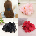 Elegant Women Girl Handmade Flower Barrette Hair Clip Hair Pin Claw Accessories