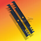 "Rotary Copperhead Mulcher Mower Blades Set 2 Fits 46"" Cut AYP/Husqvarna US Made"