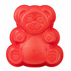 Kids Teddy Bear Silicone Cake Mould Non Stick Bakeware Baking Pan Bake Childrens