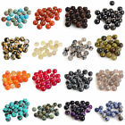 New 50 Style Natural Smooth Gemstone Round Loose Spacer Charms Beads 4-12mm