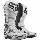 NEW FOX RACING WHITE MENS ADULT 2016 INSTINCT MOTOCROSS MX ATV RIDING BOOTS