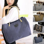 New Womens Hobo Canvas Messenger Shoppers Travel Lady Shoulder Bag Totes Purse