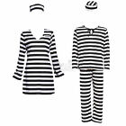 Adult Couples Jail Prisoner Jailbird Convict Costume Halloween Hen Night Outfit