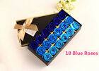 1 Box Bath Flowers Soap Rose Flowers Wedding Decorations Valentine's Day Gifts